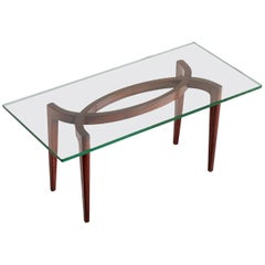 1940s Carlo Enrico Rava Coffee Table in Rosewood