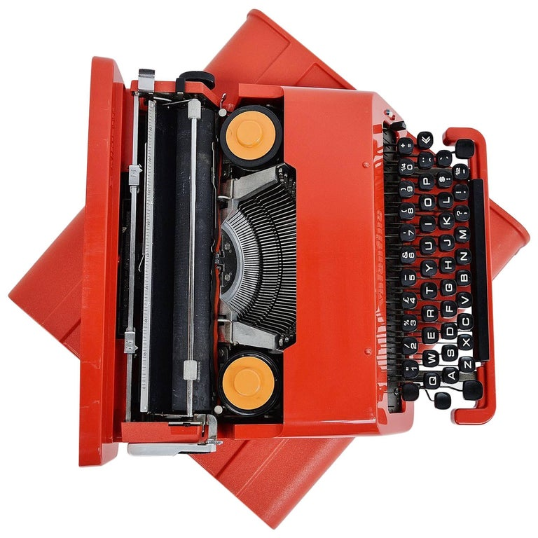 Ettore Sottsass Olivetti Valentine Typewriter, Italy, 1969 For Sale