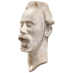 Mid-19th Century Bust of a Man
