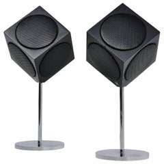 Bang & Olufsen B&B Beovox 2500 Cube Speakers, 1967