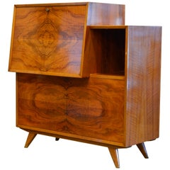 Sculptural Mid-Century Modern Credenza Cabinet by J. O. Carsson Sweden