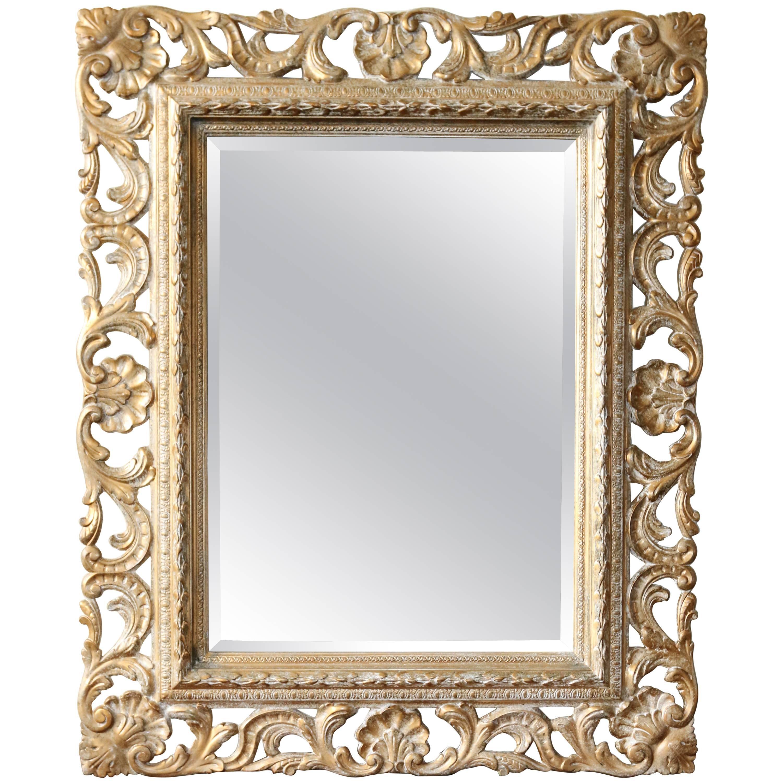 20th Century Giltwood Florentine Mirror