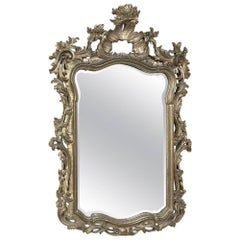 19th Century Italian Baroque Gilded Mirror