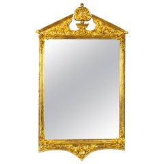 19th Century George II Style Gilded Wall Mirror