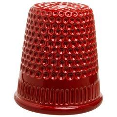 InDito Red Vase by Vito Nesta, Made in Italy