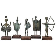 Collection of Early 20th Century Sardinian Bronzes