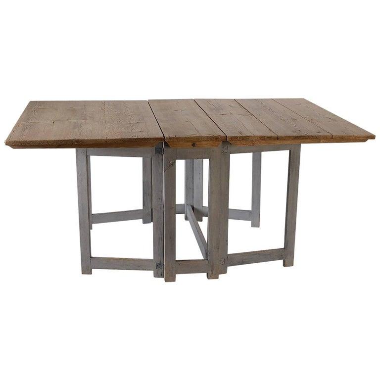 Early 19th Century Swedish Farmhouse Dining Table