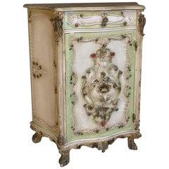 Antique Venetian Painted Cabinet