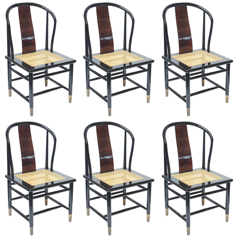 Set Of Henredon Dining Chairs 'Four Chairs And Two