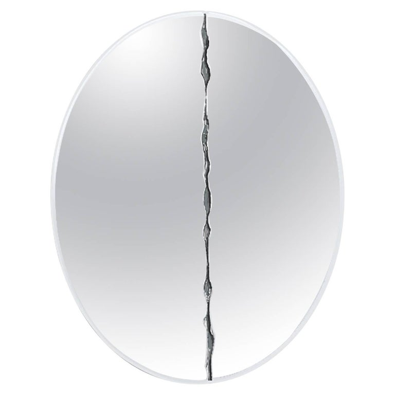 Gallotti and Radice Niagara Wall Mirror in Round or Square