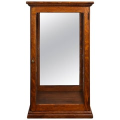 Quartersawn Oak Tower Display Case, circa 1910