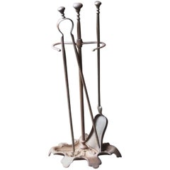 19th Century French Fireplace Tools or Fireplace Tool Set