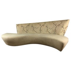 Vladimir Kagan Serpentine Sculptural Sofa