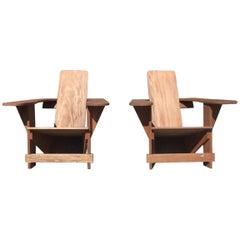 Pair of Vintage Mahogany Westport Chairs