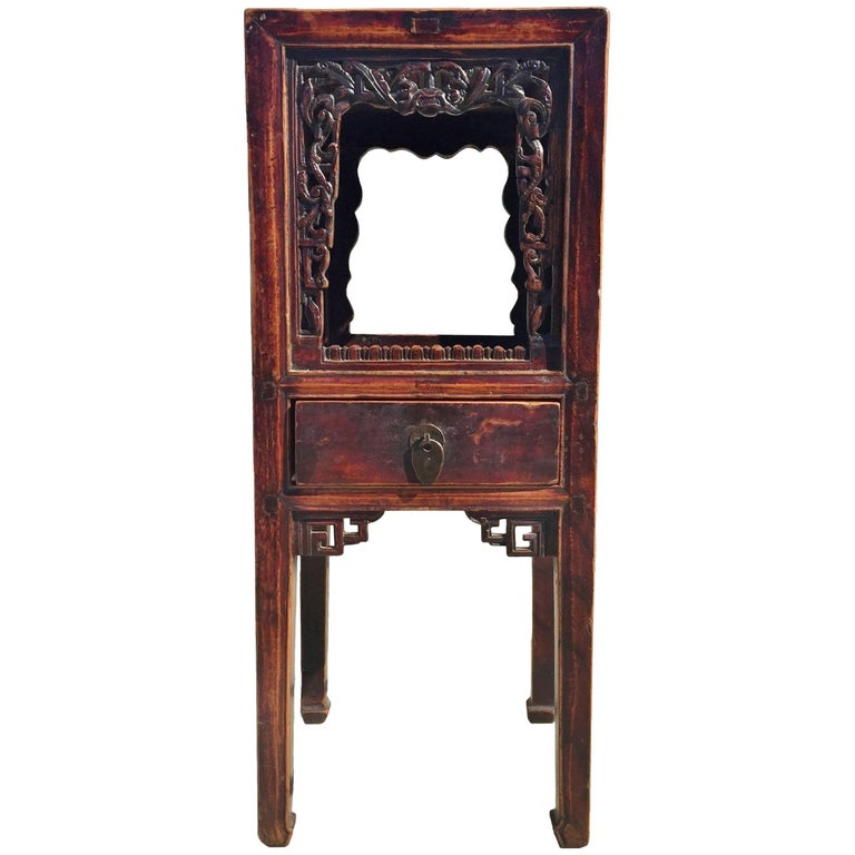 Chinese antique side table for sale at 1stdibs for Antique chinese tables for sale