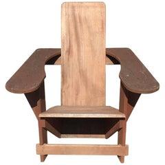 Vintage Mahogany Westport Chair