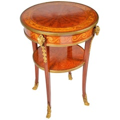 Louis XV Style Side Table, Late 19th Century