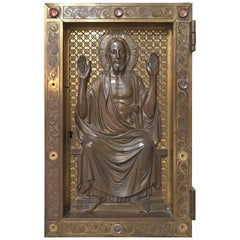 Antique Tabernacle Door, circa 1800