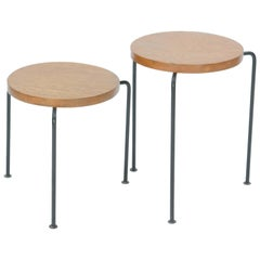 Set of Two Luther Conover Nesting Stools or Side Tables by Pacific Design Group