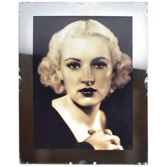 1930s Art Deco French Mirror Picture Frame