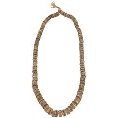 Antique Tibetan Bone Necklace