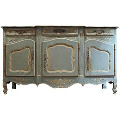 Extremely Rare Antique French Regence Enfilade