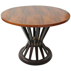 Rosewood Edward Wormley for Dunbar Sheaf of Wheat Table