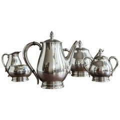 """""""Royal Danish"""" Sterling Coffee and Tea Service by International Silver"""
