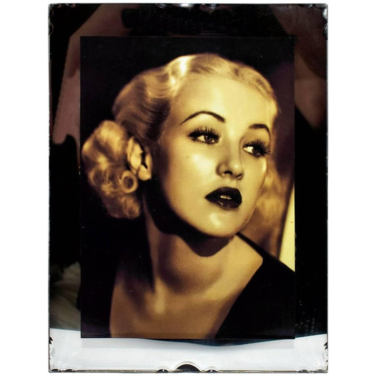 1930s French Mirrored Art Deco Picture Frame
