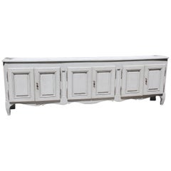 Antique French Six-Door Regence Style Enfilade