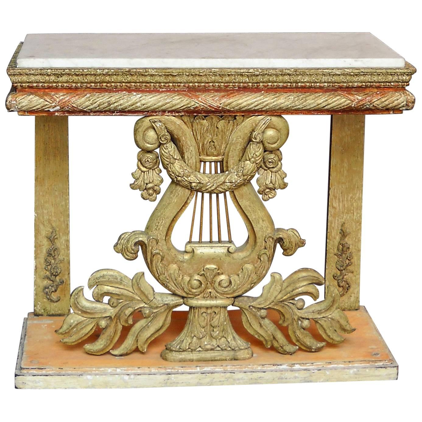 Late Gustavian Console Table