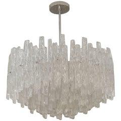 Massive Lucite Kalmar-Style Chandelier