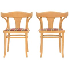 Pair of Bentwood J&J Kohn Chairs from Austria