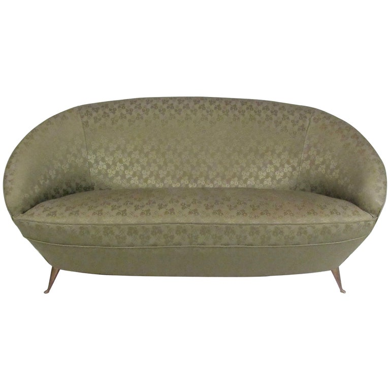 Italian Modern Sofa in the Style of Ico Parisi