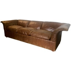 "Sofa ""Poltrona Frau"" in Leather by Luigi Massoni"