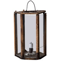 Lantern Wood Swedish 19th Century Sweden