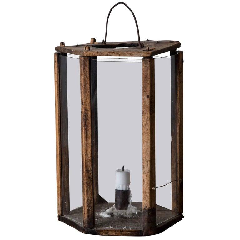 Lantern Wood Swedish 19th Century Sweden