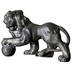 Lion Pewter Swedish, 20th Century, Sweden