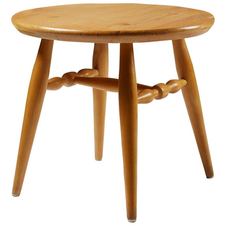 Table Designed by Erik Höglund for Kopparfly, Sweden, 1960s