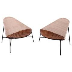 Pair of Arthur Umanoff Lounge Chairs for Raymor