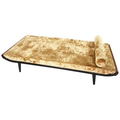 Daybed Cleopatra by Andre Cordemeyer for Auping, 1953 New Crushed Gold Velvet