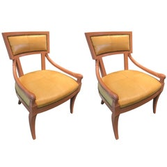 Pair of 20th Century Vintage Armchairs from New York