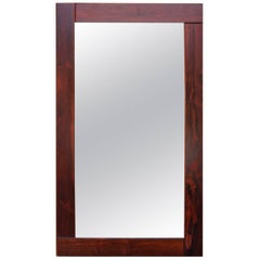 Mirror in Wide Frame in Rosewood of Danish Design, 1960s