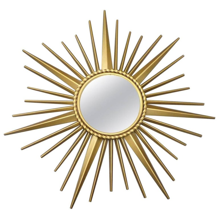 Chaty vallauris sunburst mirror circa 1960 for sale at for Chaty vallauris miroir