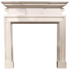 Reproduction Georgian Style Marble fireplace