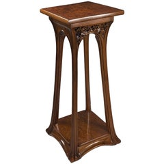 French Art Nouveau Pedestal by Louis Majorelle