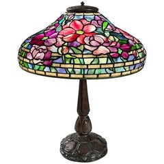 "Tiffany Studios ""Peony"" Table Lamp"