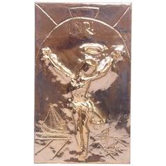 """Christ of St. John of the Cross"" Salvador Dali"