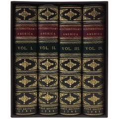 William Winterbotham's 4-Volumes on the View of the American United States, 1795
