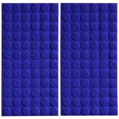 Yves Klein Blue Diptych